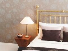 丽彩墙纸,浪漫的小花,白净优雅,再附上卡其和深灰的底,低调