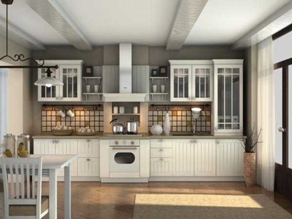 用LV材料做志邦橱柜,德国skai膜压整体厨房(定金)