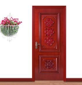 欧派木门 实木雕花烤漆室内门 PS-301