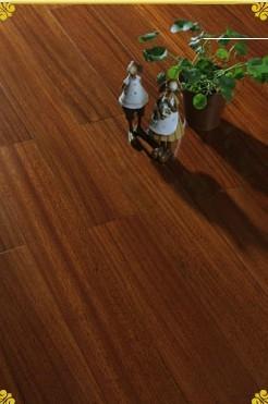 圆盘豆实木地板