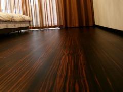 安信实木复合地板 擦色系列 黑檀色