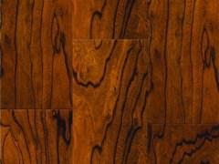 安信实木复合复古地板 榆木 巧克力色