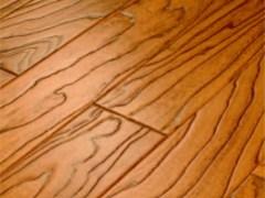 安信 实木复合复古地板 榆木柚木色
