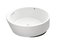 【科勒旗舰店】艾芙正圆形独立式泡泡缸(含排水)