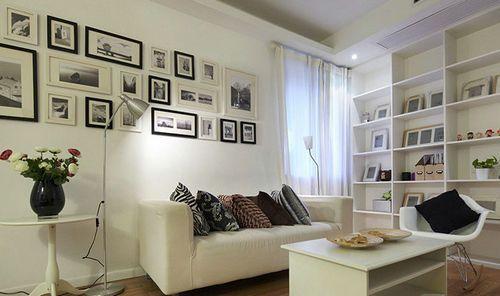 实木照片墙 适合生活照的相片墙 20框创意组合相框墙