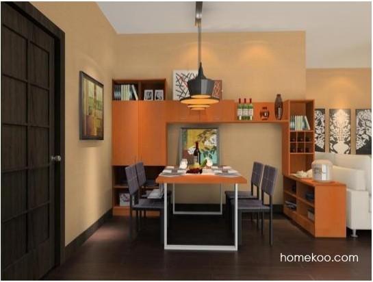 尚品宅配 餐厅家具 餐桌椅 餐柜 定制家具