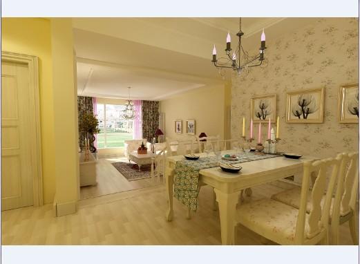 田园风格-110平米二居室-装修设计