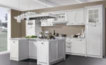 我乐厨柜2013年国际新品-包覆门定制橱柜【托斯卡纳】图片