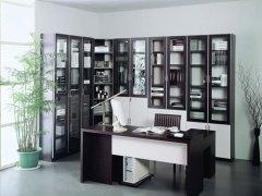 好莱客整体定制书柜