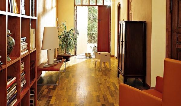 圣象三层实木复合地板KS8368流金玛宝木