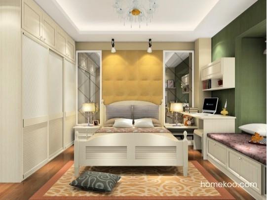 尚品宅配 卧房家具定制A17239 定制家具十大品牌