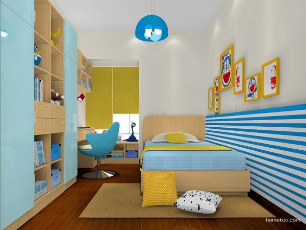 尚品宅配 儿童房家具定制 13件套 国标E1级环保