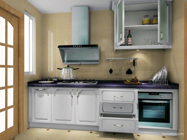 尚品宅配 整体橱柜 家具定制 环保材质
