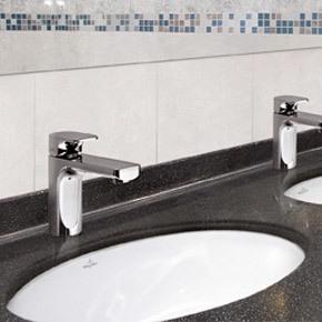 你怕打扫卫生吗 就用德国唯宝的台下盆吧 10年创新釉面