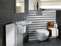 挂墙式让您的卫生间更省空间 德国唯宝