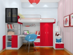 尚品宅配 儿童房家具定制 12件套 定制家具NO.1