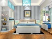 尚品宅配 整体卧室家具定制 17件套 17平米 周迅代言图片
