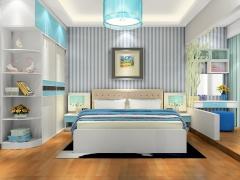 尚品宅配 整体卧室家具定制 17件套 17平米 周迅代言