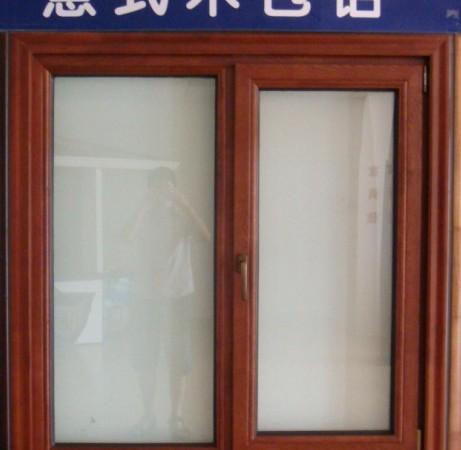 富思特68系列木包铝窗