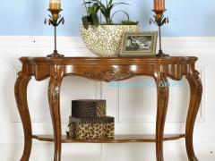 美式高档实木简约沙发背几#2D 外单 别墅家具 米高家具