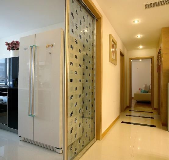 现代简约-139平米三居室-装修样板间