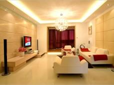 现代简约-139平米三居室装修图片