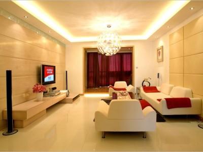 现代简约-139平米三居室装修样板间