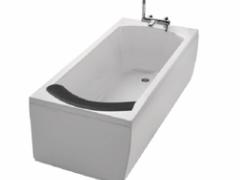 科勒OVE 欧芙整体化泡泡浴缸(含橙色浴枕左角边)