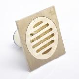 厂家直销:潜水艇防臭地漏GTF5-10黄铜哑光仿铝质 仿古