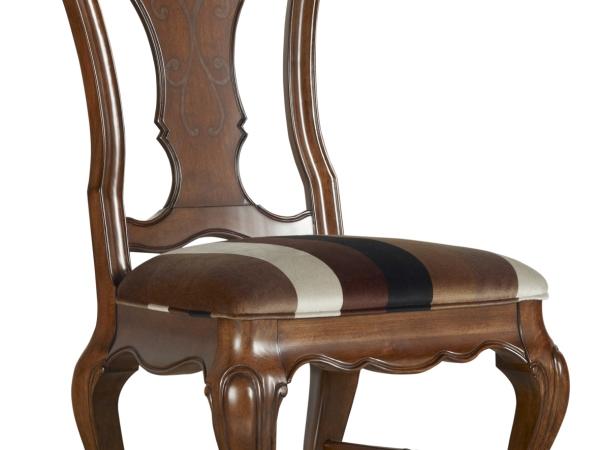 美克美家-圣卡罗系列-餐厅组-无扶手餐椅