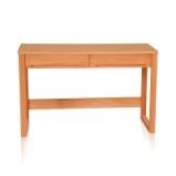 青岛一木纯实木01书桌1# 榉木写字台1.2米电脑桌学习桌图片