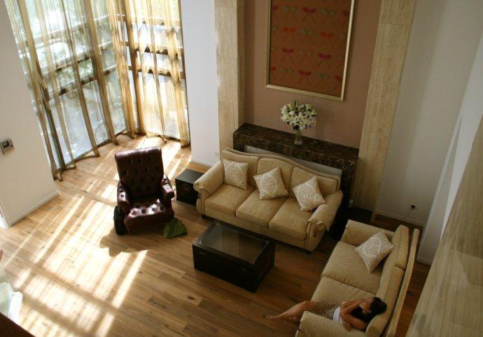 混搭风格-500平米四居室-装修样板间