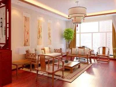 中式古典-121平米三居室装修样板间