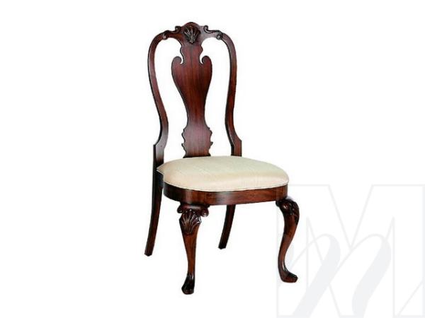 伊森艾伦-英伦曼舞系列-餐厅组-安妮皇后无扶手椅