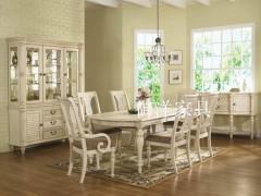 欧式实木餐桌餐椅|地中海餐桌餐椅|实木餐桌椅组合特价御洋家具