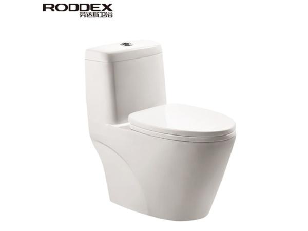 劳达斯卫浴 联体马桶 座便器 虹吸式节水抽水马桶111A
