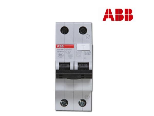 ABB空开漏电保护断路器GSH201-C25 2P