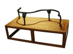 天一美家JS中式系列花梨木鸳鸯椅