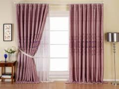 意萨立德芭芭拉2358-紫遮光窗帘