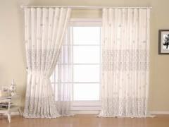 意萨立德晓风88052-咖现代窗帘