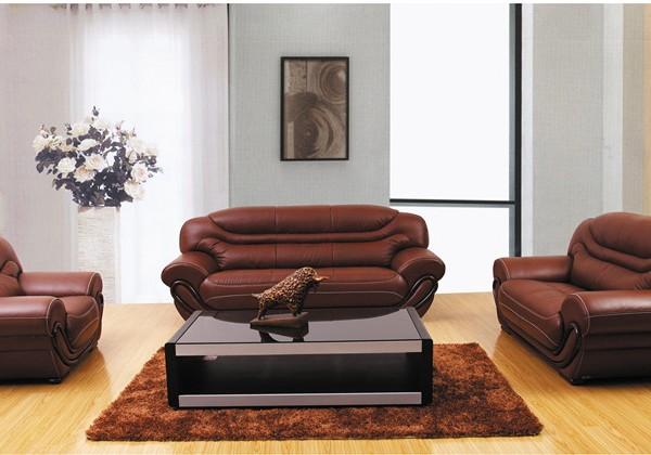 联乐真皮沙发 欧式真皮沙发 可定制 WB2130