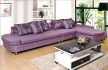 联乐布艺沙发 简约现代布艺沙发 可定制 WB2628图片