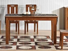 光明家具福橡金缘系列餐桌118