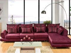联乐布艺沙发 现代简约布艺沙发 可定制WCC7037