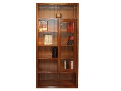 光明家具金仕名阁单门书柜QS087-6384-99