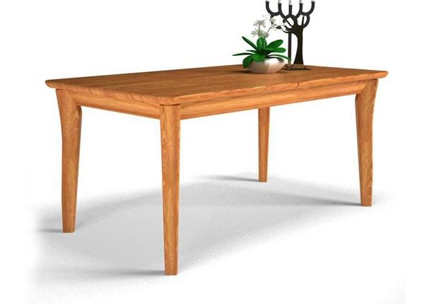 光明家具福橡金缘系列餐桌118-41101-160