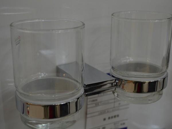 法贝F10605 卫浴五金挂件 斯旺系列双杯 厂家直销