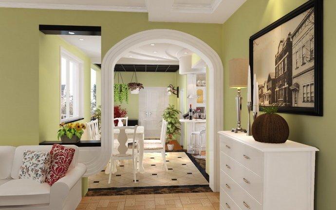 田园风格-192平米二居室-装修样板间