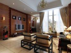 中式古典-196平米四居室装修图片