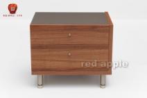 红苹果 简约现代卧室简易床头柜图片